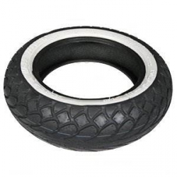 SAVA tires with whitewall 10 inch 100/80