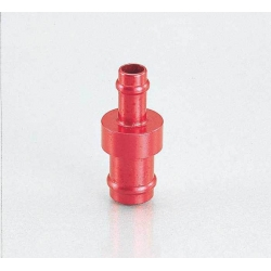 Fuel hose adaptator 5mm to 6mm by Kitaco. Red or blue