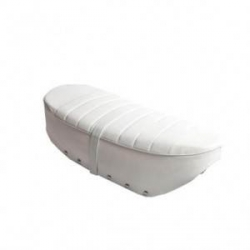 seat for Honda Dax ST 12 volts (NT) White