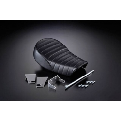 G-CRAFT Black Stepped Tuck n' Roll Seat for 4L Monkey