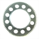 Electric starter sprocket for Minarelli