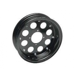Alu wheel 10 inch x 3.0 with 8 holes black