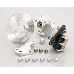 Kitaco Front disk kit for monkey silver hub