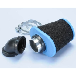 Air foam filter Polini Big evo Ø46-48mm blue black