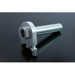 Aluminium throttle universal silver or black