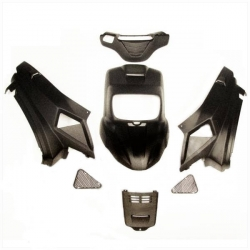Matte black body work - cover set for MBK - Bw's from 2004