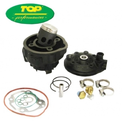 Cilinderkit Top Performances Nitro, Aerox, Aprilia SR - Black trophy 70cc 9931310