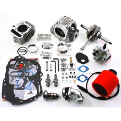 Kit 108cc Dax 12V, Skyteam, Monkey, Zenuha, Beati.. Trail-bikes, Kymco KPW, complete with V2 head kit cylinder