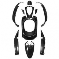Fairing / cover set Sym Mio black