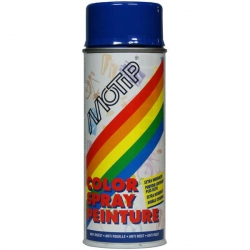 Color spray peinture Motip Ultramar blue