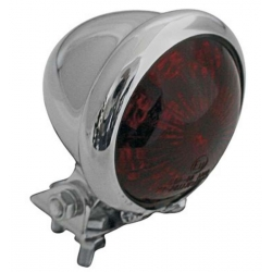 Taillight look caferacer leds Ø50mm chrome plated