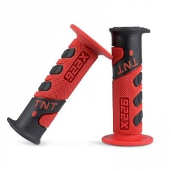 Handgrip TNT Cross Black / red