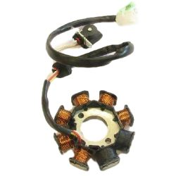 Ignition stator Kymco Agility Peugeot V clic Baotian Beeline Jonway with GY6 engine