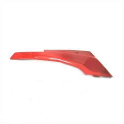 Rear cover Peugeot Fox right red