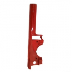 Fork cover Peugeot Fox right red