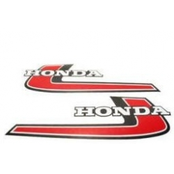 Stickers de réservoir Honda Monkey Z50 '76 reproduction