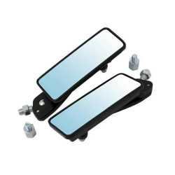 Pair of mirror CNC black