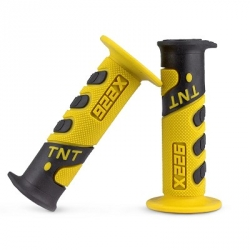 Handgrip TNT Cross Black / Yellow