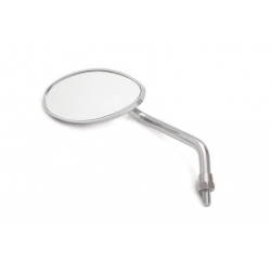 Mirror mini oval chrome Takegawa left 06-01-119