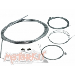 Chrome plated cable for Peugeot 103