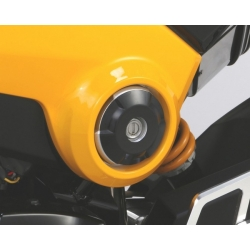 Kitaco side accent cover set black anodized for Honda MSX - Grom 125