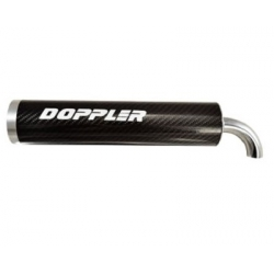 Exhaust Silencer Doppler universal carbon