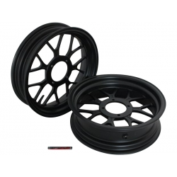 "Kepspeed KP2 wheels set 2.75+3.50 12"" black"