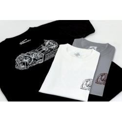 TAKEGAWA's original T-shirt Noir-Medium