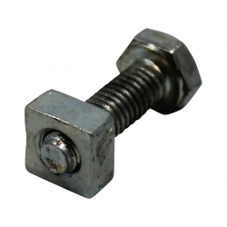 Exhaust bolt with square nut set Wallaroo Peugeot 103 and Fox