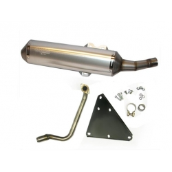 Exhaust - silencerTecnigas 4scoot for Kymco Dink 125 i and Down Town 125 i