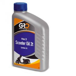 G-R-O 2 stroke synthetic oil - 1 liter