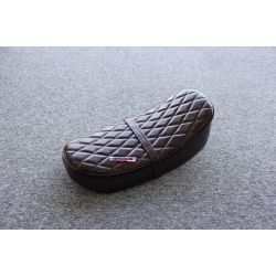 Genuine fake leather seat dark brown for Honda Dax and replicas