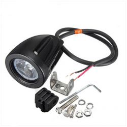 Mini lampe LED POWER 12V 10W Spot noir