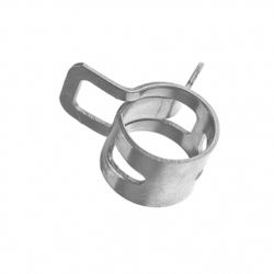 Fuel hose clamp, broad, diameter 8 mm