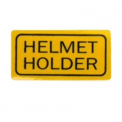 "Sticker "" Helmet Holder "" reproduction"