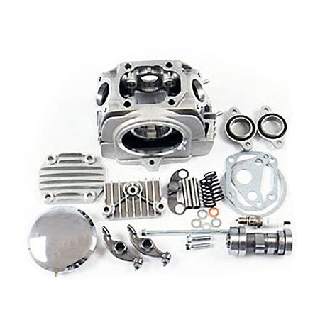 Cylinder Head for YX and lifan engines 125cc with 27 and 23mm valve