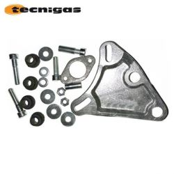 Exhaust bracket set for Polini, Bidalot, Tecnigas on Nitro, Booster, Aerox, Bws, SR