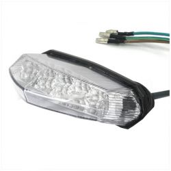 Rear / tail light 10 leds Derbi Senda R, SM, PRO, DRD - CPI SM, SMX, Hussard, Oliver, Pop Corn - Rieju RS2