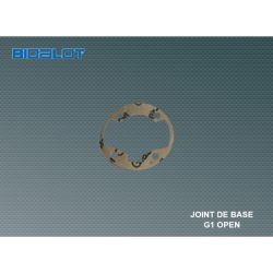 Base - cylinder gasket Bidalot MBK G1 open 0.4mm