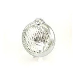 Cub front light diamond 130mm chrome plated
