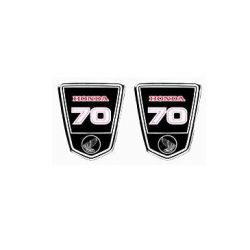 Frame stickers set for Honda Dax - CT70 - ST70. Repro