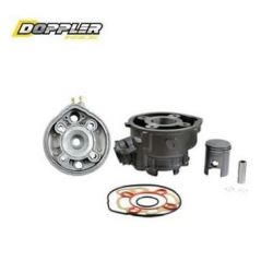Kit Cylindre - culasse Doppler AM6 50 cc en fonte - piston vertex