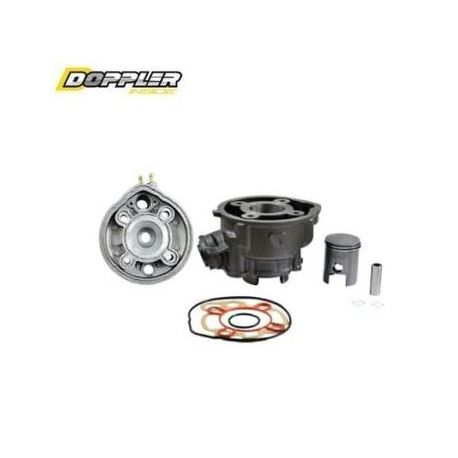 cylinder head kit doppler 50 cc for am6 engine motorkit. Black Bedroom Furniture Sets. Home Design Ideas