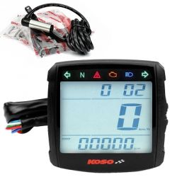 Multi fonction digital speedometer