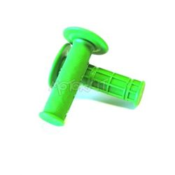 Handle grips set fluo green