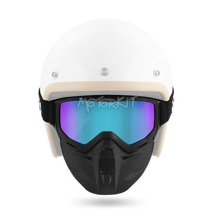 Cross Goggle + face protection Brako Noend