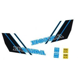 Fuel tank sticker set for Honda Camino Custom Blue