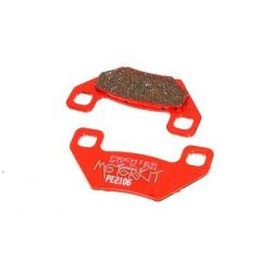 Rear brake pads for Kepseep caliper on rear brake kit for Dax - Skyteam complete