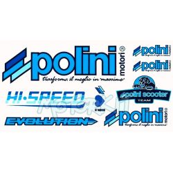 Stickers Polini Team 30 x 17cm