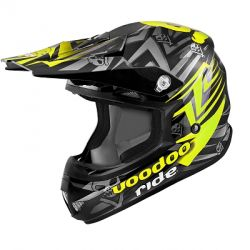 Cross helmet NoEnd green black